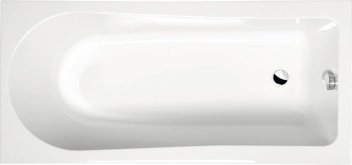 LISA obdélníková vana s podstavcem 150x70x47cm, bílá 85111