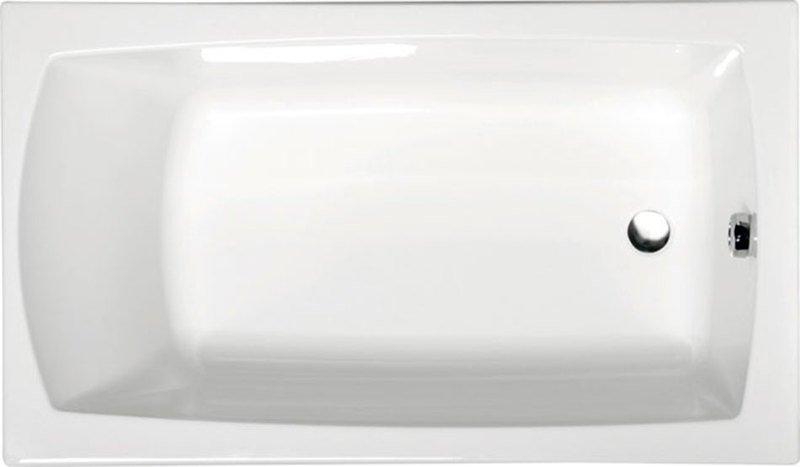 LILY 140 obdélníková vana s podstavcem 140x70x39cm, bílá 72201