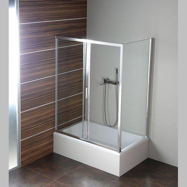 Deep obdélníkový sprchový kout 1200x750mm L/P varianta, čiré sklo MD1215MD3115