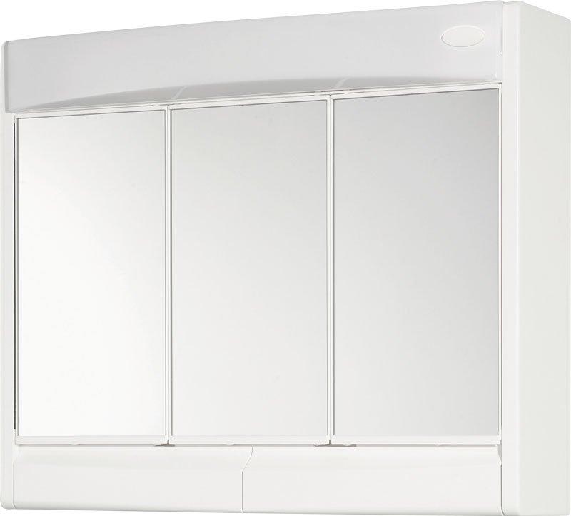 SAPHIR galerka 60x51x18cm, zářivka 15W, G13, bílá plast 591322
