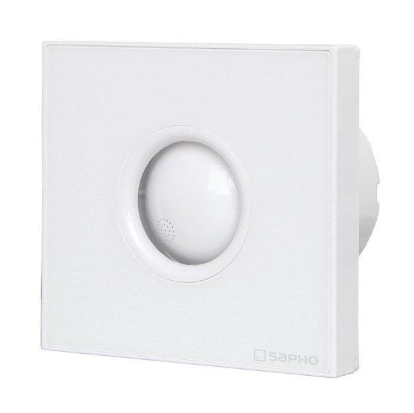 LITE koupelnový ventilátor axiální s časovačem, 15W, potrubí 100mm, bílá LT102