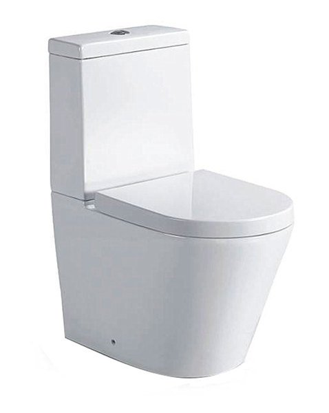 PACO WC kombi mísa s nádržkou včetně Soft Close sedátka, spodní/zadní odpad PC1012