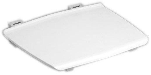 GELCO sklopné sedátko do sprchového koutu 32,5x32,5 cm, bílá GS120W