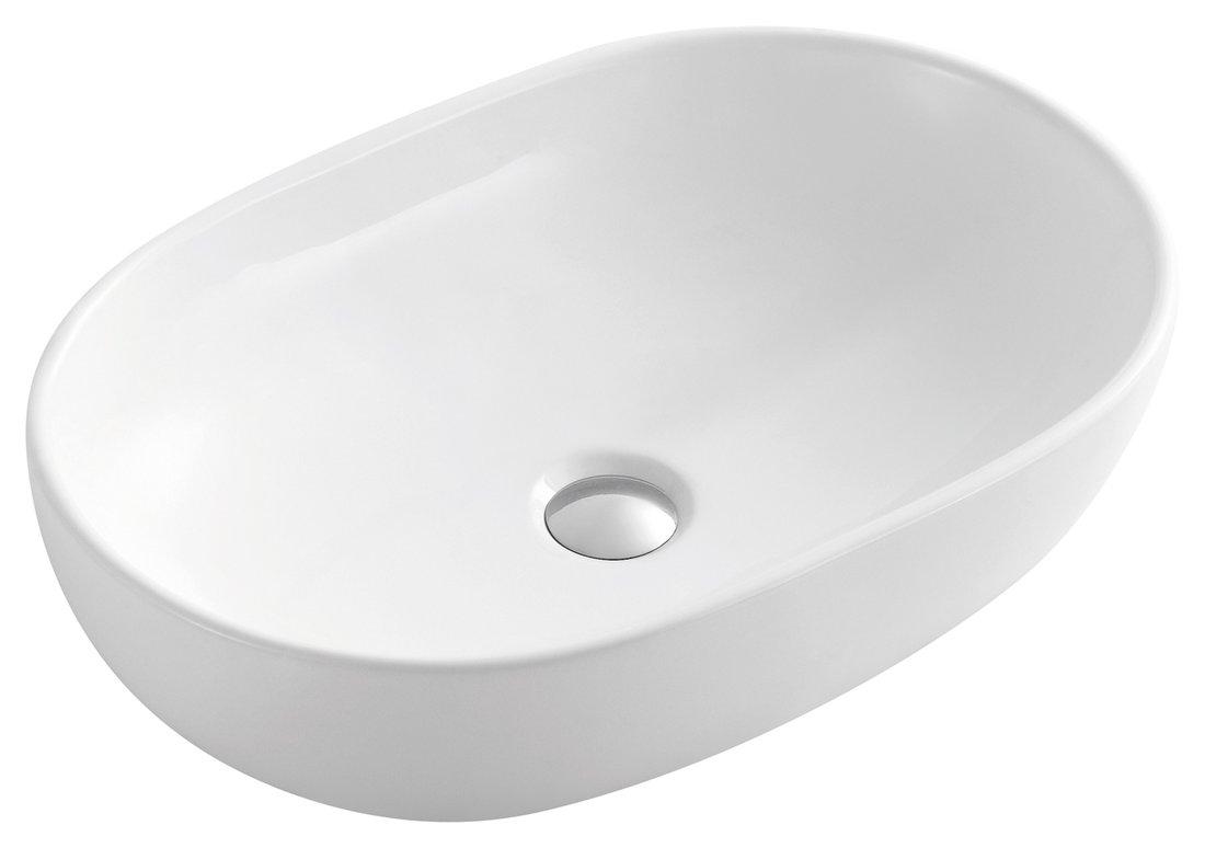 CALEO keramické umyvadlo 59x41x14 cm, na desku CA590