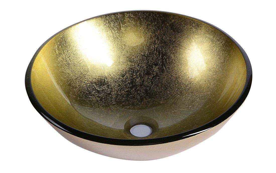 SHAY skleněné umyvadlo průměr 42cm 2501-22