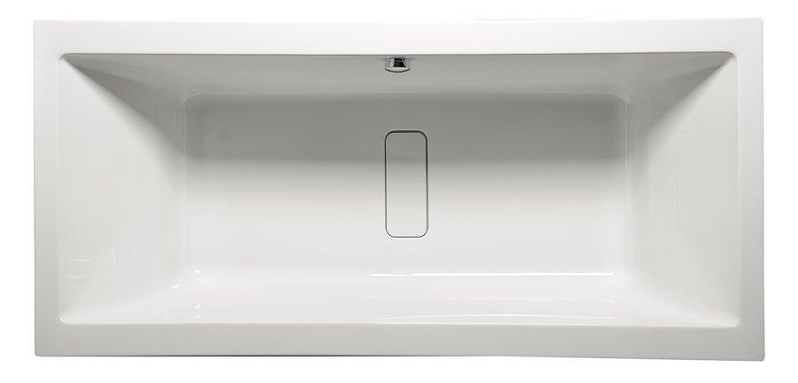 MARLENE 200 obdélníková vana s podstavcem 200x90x48cm, bílá 78731