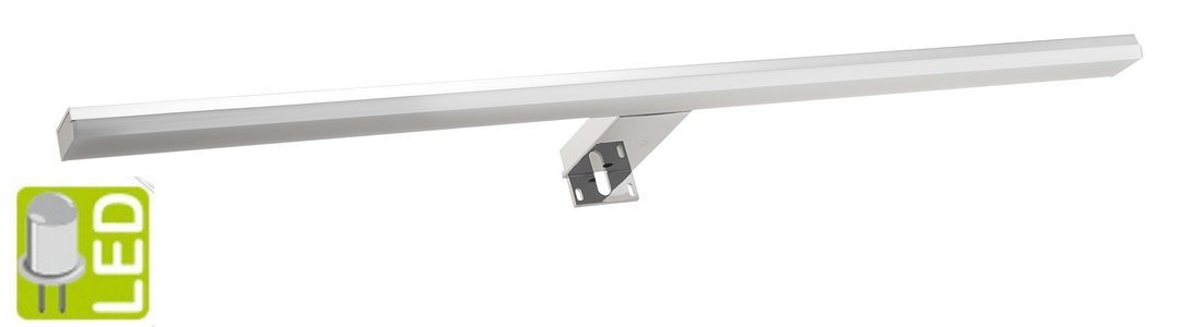 FELINA LED svítidlo, 12W, 608x15x112mm, chrom FE060