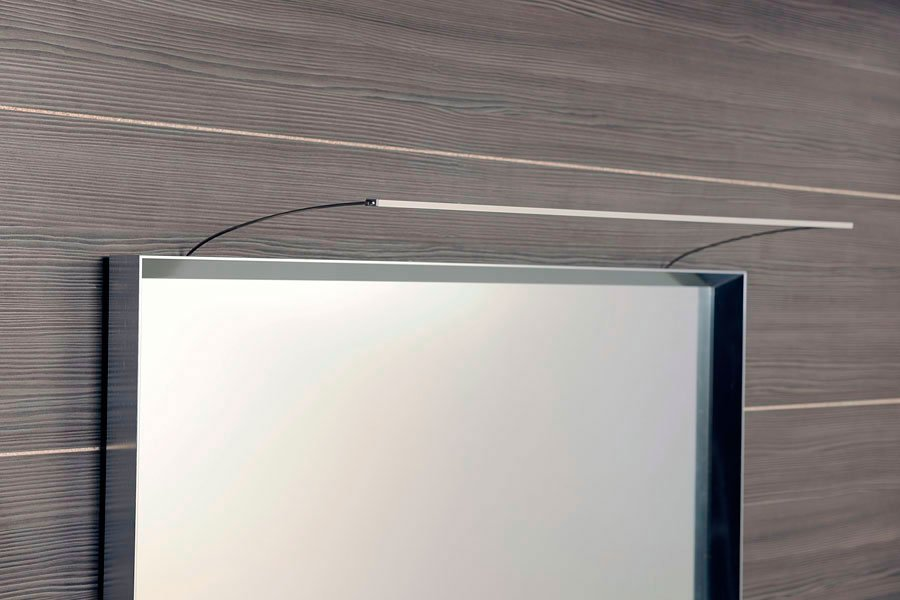 TREX LED nástěnné svítidlo 47cm 7W, hliník ED163