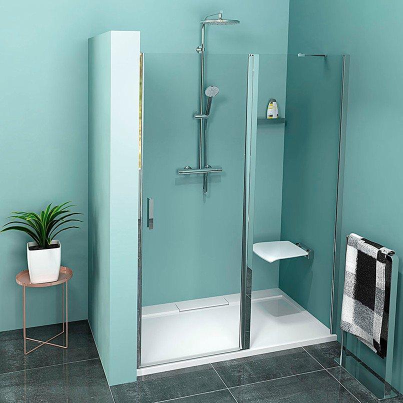 ZOOM LINE sprchové dveře 1000mm, čiré sklo ZL1310