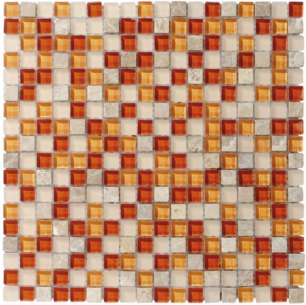 CORNY MOSAIC (ZSC063) plato 30x30, 1,5x1,5 cm (bal. 11ks) CMB063