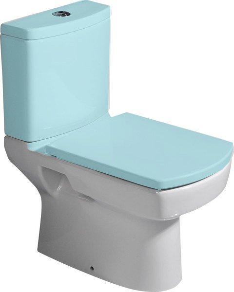 BASIC WC mísa kombi, spodní/zadní odpad, 35x61cm 71122333