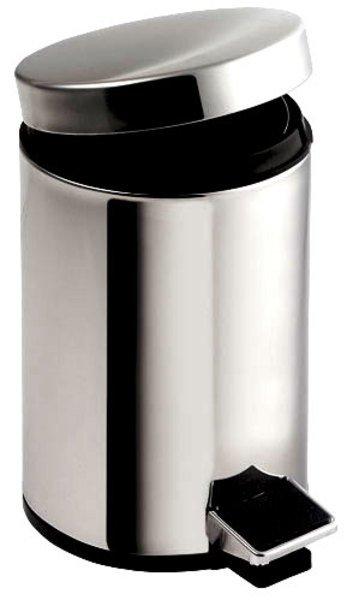 SIMPLE LINE odpadkový koš kulatý 5l, leštěná nerez 27105