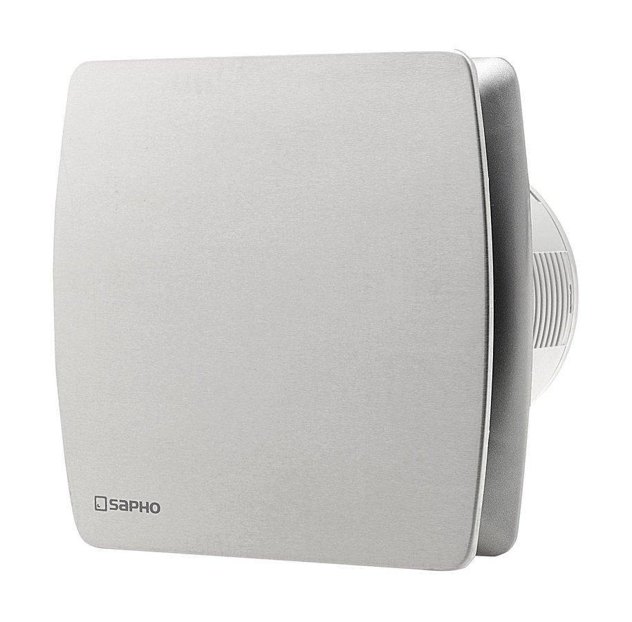 LEX koupelnový ventilátor axiální, 15W, potrubí 100mm, nerez LX103