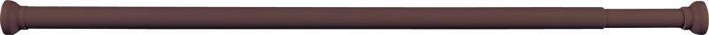 Teleskopická rozpěrná tyč 118-215cm, hnědá 4062