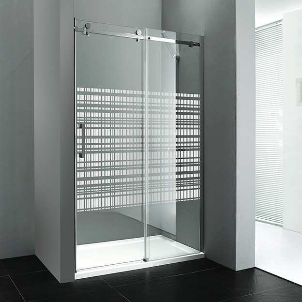 DRAGON sprchové dveře 1200mm, sklo CANVAS, pravé GD4512SR