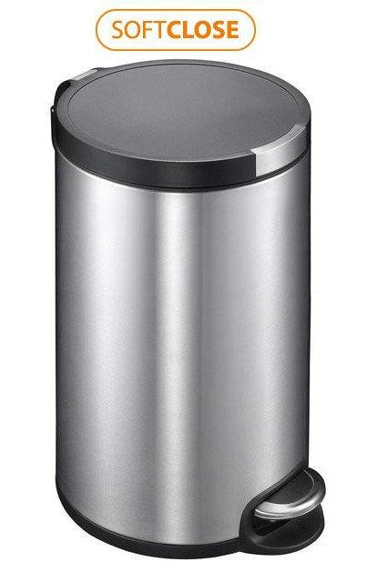 ARTISTIC odpadkový koš 20l, Soft Close, broušená nerez DR120