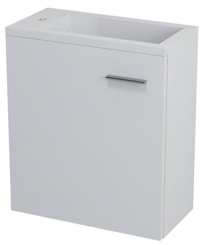 LATUS III umyvadlová skříňka 45x50x23,2cm, bílá 55541