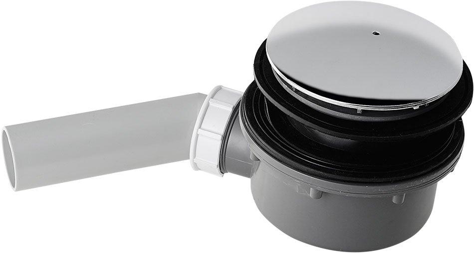 RETRO vaničkový sifon, průměr otvoru 90 mm, krytka chrom 905601