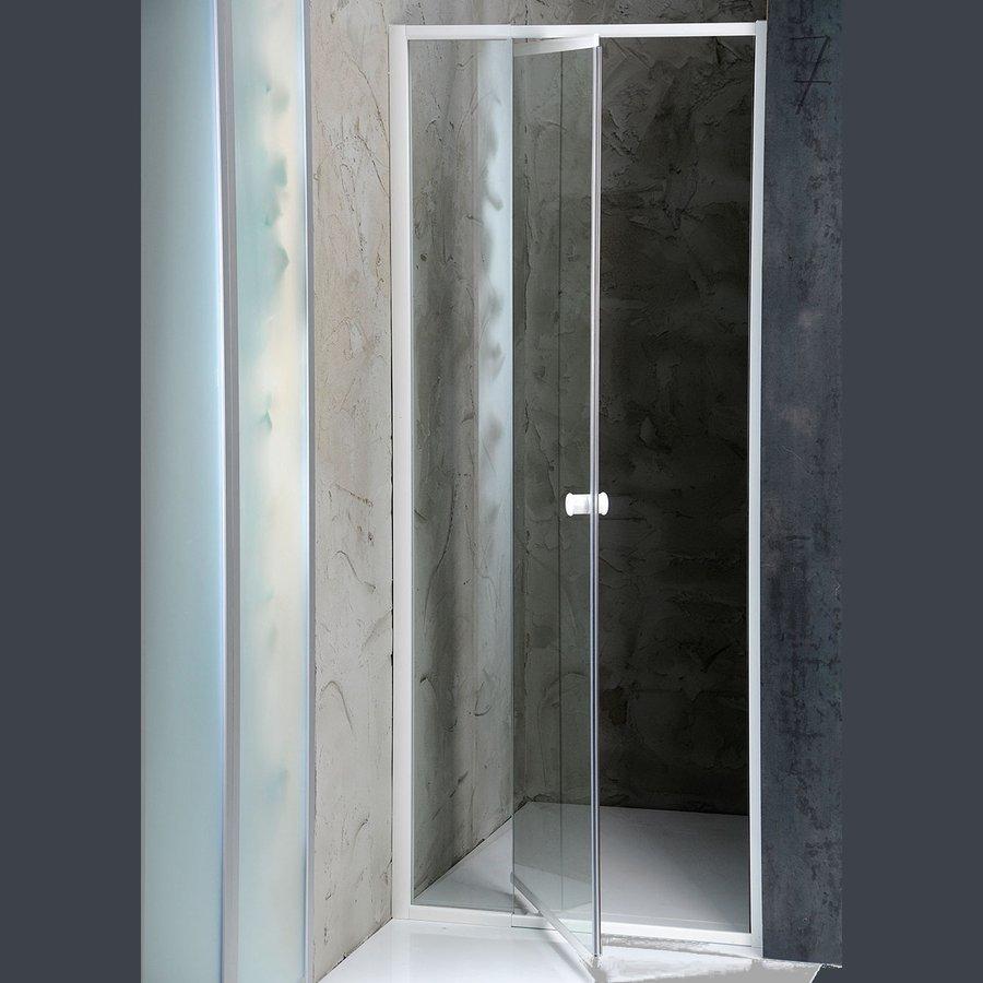 AMICO sprchové dveře výklopné 740-820x1850 mm, čiré sklo G70