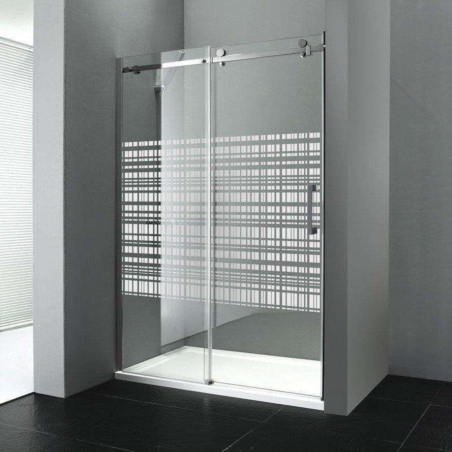 DRAGON sprchové dveře 1200mm, sklo CANVAS, levé GD4912SL