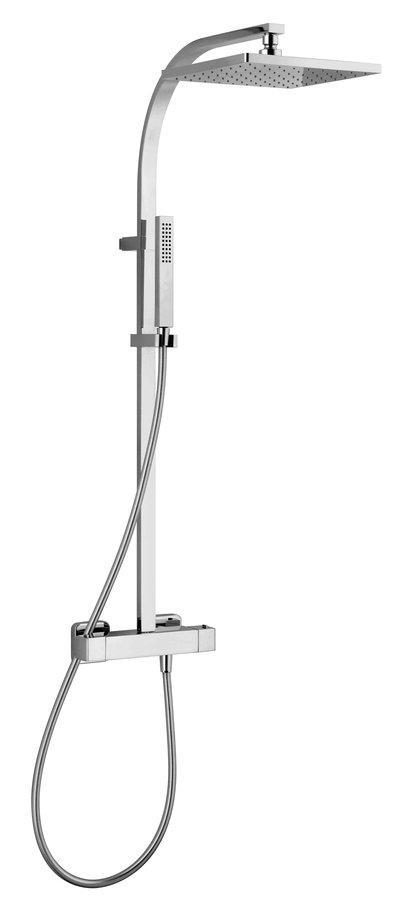 UNA sprchový sloup s termostatickou baterií, chrom UN57SP2151