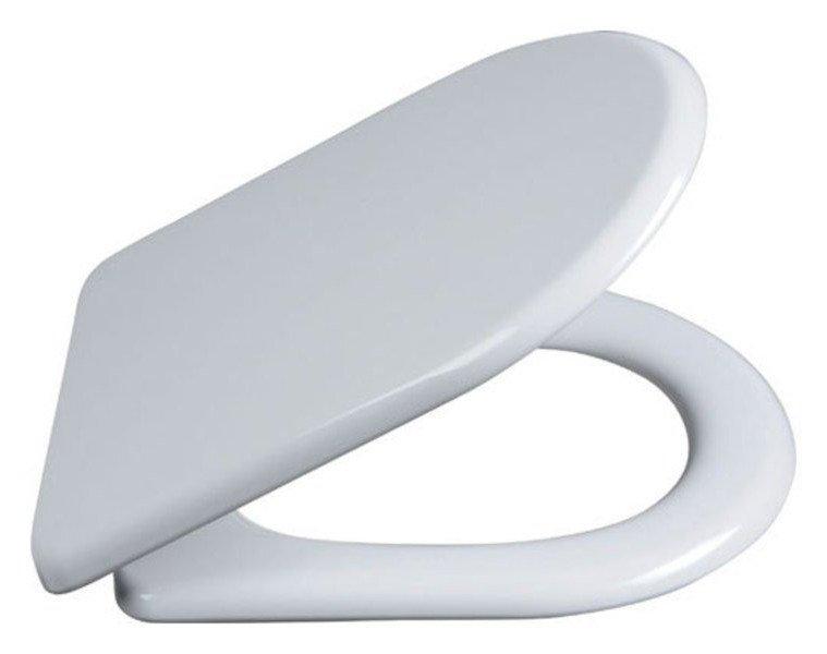 LENA WC sedátko Soft Close, antibakteriální, duroplast, bílá 1703-113