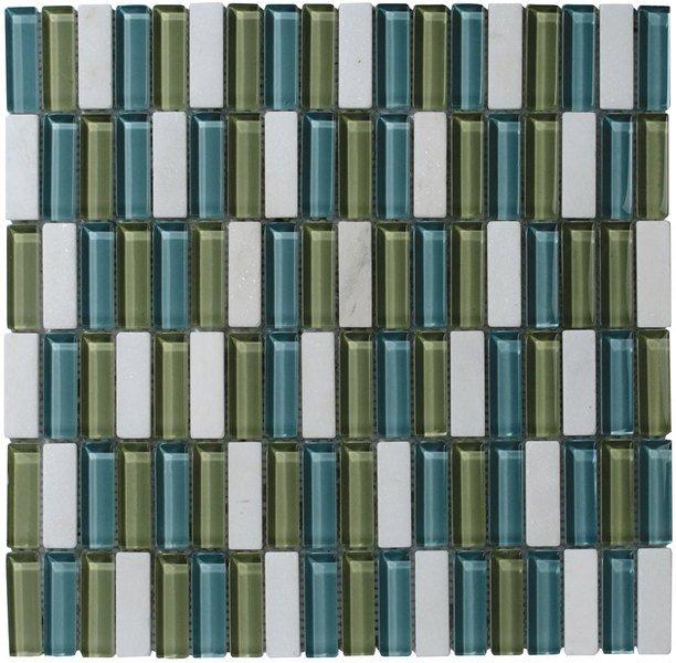 CORNY MOSAIC (ZYXT011) plato 30x30, 1,5x4,8 cm (bal. 11ks) CMB011