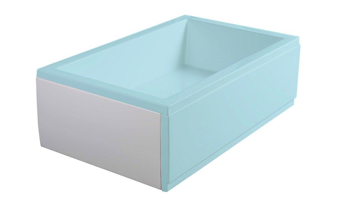 DEEP PLAIN 90, boční panel, 90x36cm, bílá 89781