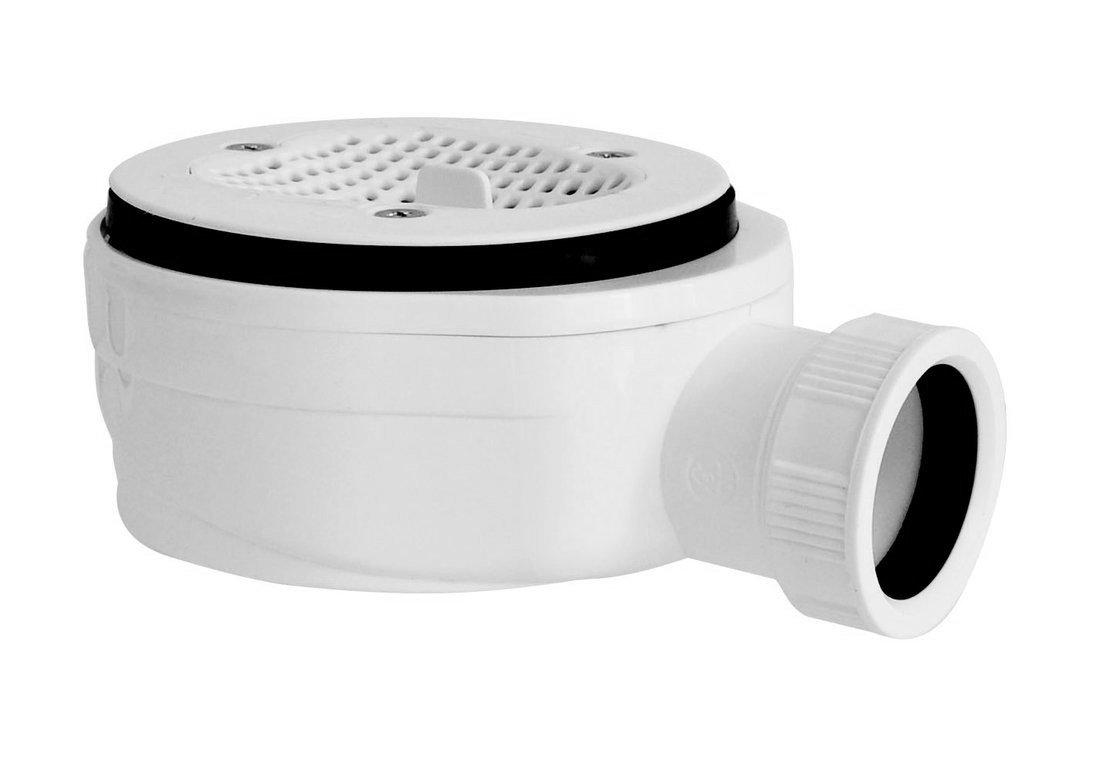 GELCO vaničkový sifon, průměr otvoru 90 mm, DN40, extra nízký, pro IRENA GE90EXNMINUS