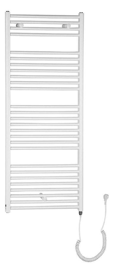 Otopné těleso pro elektrické vytápění, rovné, 1330/600, bílá (včetně topné tyče) ILE36