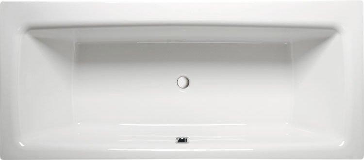 KVADRA 180 obdélníková vana s podstavcem 180x80x47cm, bílá 17611