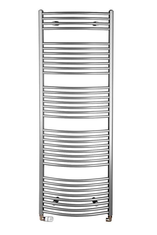 Otopné těleso oblé 1330/600, 708 W, metalická stříbrná ILA36