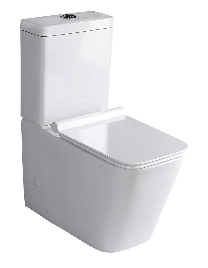 PORTO WC kombi mísa s nádržkou včetně Soft Close sedátka, spodní/zadní odpad PC102