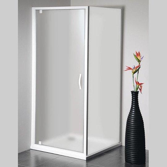 Eterno čtvercový sprchový kout 900x900mm L/P varianta, sklo Brick GE7690GE4390