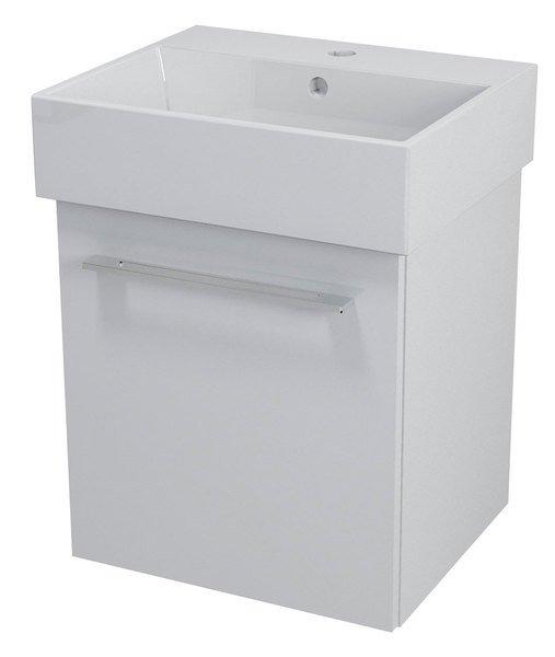 NATY umyvadlová skříňka 46,5x50x40cm, bílá NA051