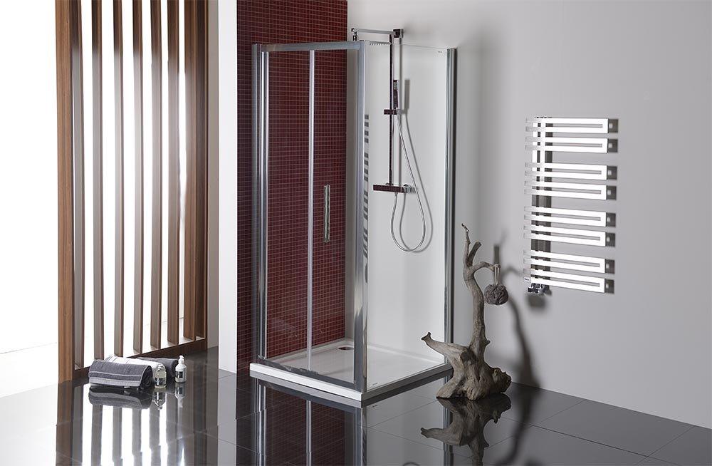 LUCIS LINE sprchová boční stěna 800mm, čiré sklo DL3315