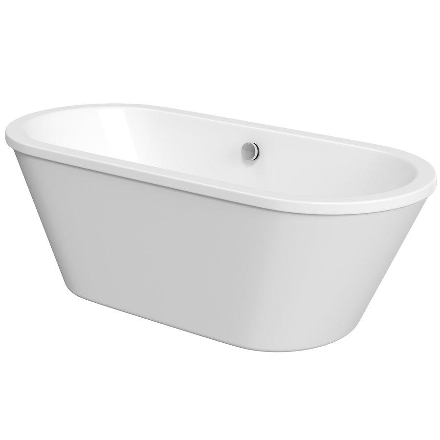 LABE volně stojící vana, 180x80x57 cm, bílá LA180