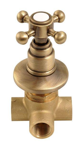 ANTEA podomítkový přepínač, bronz DEVIN26
