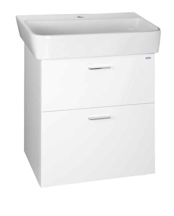 ZOJA umyvadlová skříňka šuplíková 56x50x35,6 cm, bílá 56378