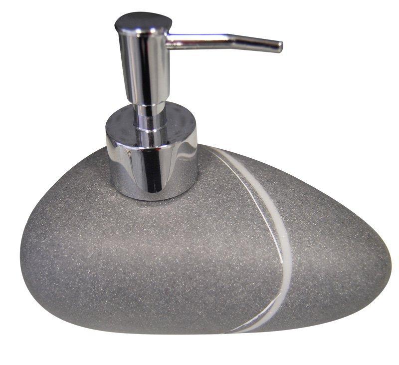 LITTLE ROCK dávkovač mýdla na postavení, tmavá 22190507