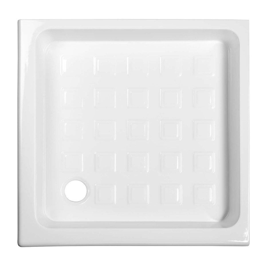 RETRO keramická sprchová vanička, čtverec 90x90x20cm 133801