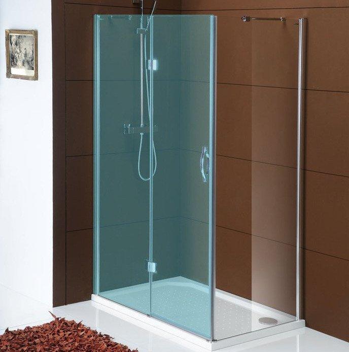LEGRO boční stěna 900mm, čiré sklo GL5690
