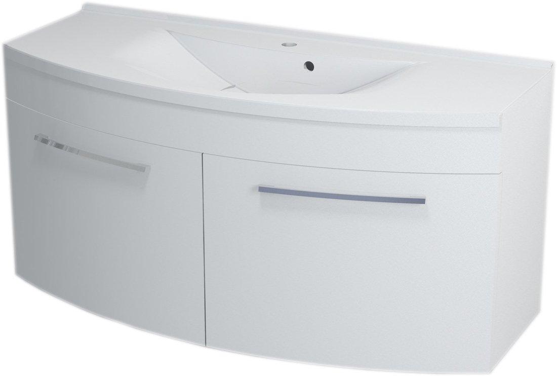 JULIE umyvadlová skříňka 120x55x50cm, bílá 59120