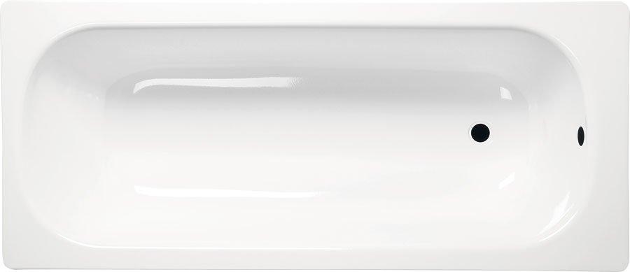 Obdélníková smaltovaná vana 120x70x38cm, bílá V120x70