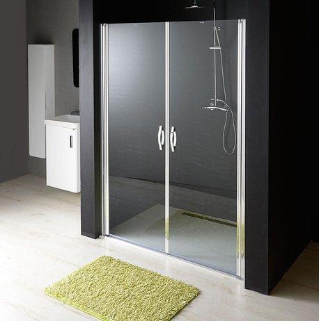 ONE sprchové dveře do niky dvoukřídlé 1180-1220 mm, čiré sklo, 6 mm GO2812