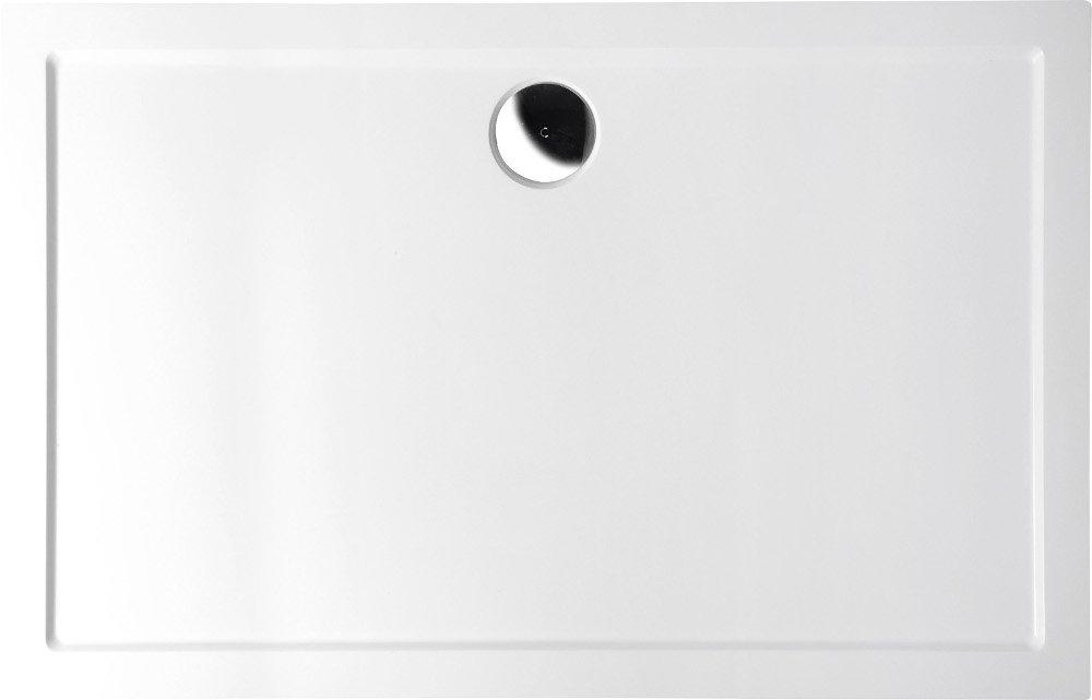 KARIA vanička z litého mramoru, obdélník 100x70x4 cm 71565