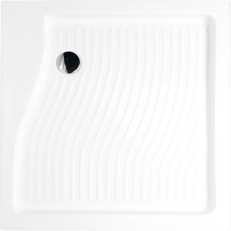 Sprchová vanička akrylátová, čtverec 90x90x15 cm C92