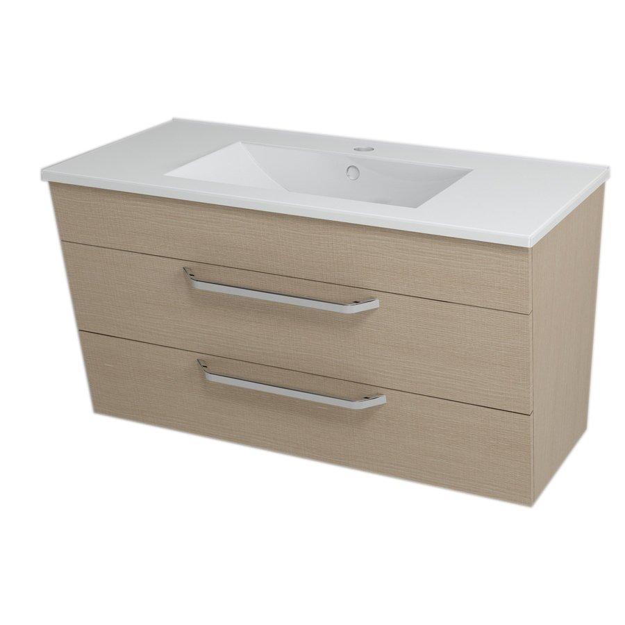 KALI umyvadlová skříňka 89x50x46cm, dub benátský 56093