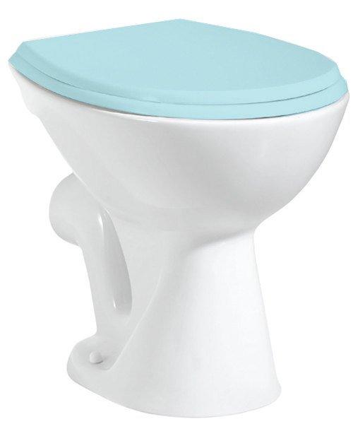 WC mísa samostatně stojící 36x47cm, zadní odpad, bílá TP330