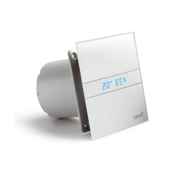 E-100 GTH koupelnový ventilátor axiální s automatem, 8W, potrubí 100mm, bílá 900200